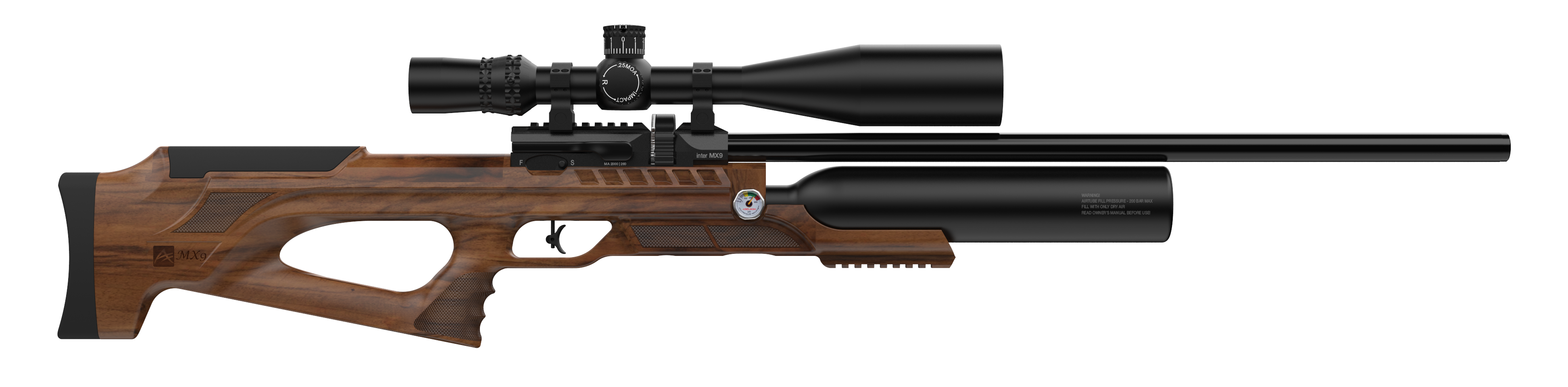 PCP MX9 SNIPER WOOD